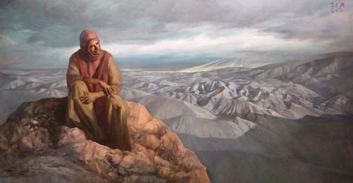 Solitudine, Omaggio a Francesco Petrarca